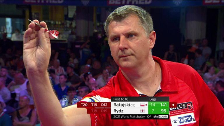 World Matchplay 2021: Dimitri Van den Bergh beats Gerwyn Price to reach semi-finals in Blackpool |  Darts News