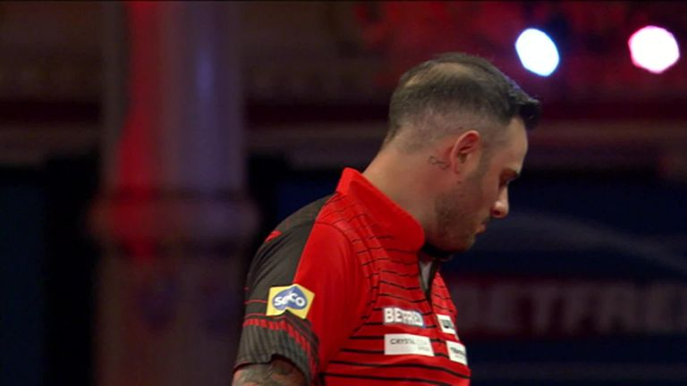 Joe Cullen beat good friend Chris Dobey in the first round of the World Matchplay and was a little tearful after the win