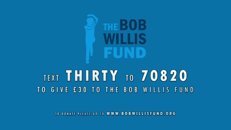 Lauren Clark, the wife of the late Bob Willis, explains how the Bob Willis Fund was established and how it hopes to help fight prostate cancer