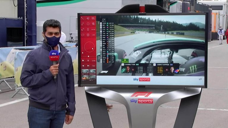 Karun Chandhok takes a closer look at the key fight from FP2 in Austria.