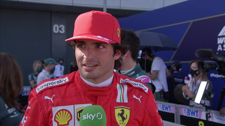 The Ferrari driver did not hold back in blaming George Russell for his mistake which meant he finished his Sprint Race in eleventh