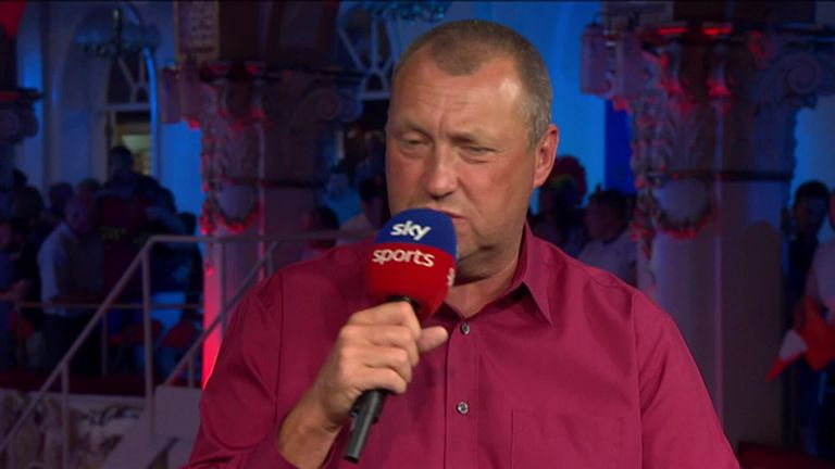 Wayne Mardle can't contain his excitement for the World Matchplay Final where Wright will meet defending champion Van den Bergh
