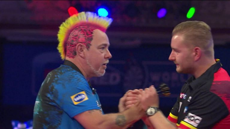 Here's the moment Peter Wright became the 2021 World Matchplay Champion