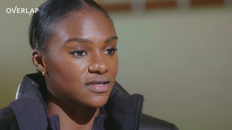 Asher-Smith discusses the role sport can play in the wider fight against racism (Pictures courtesy of Sky Bet)