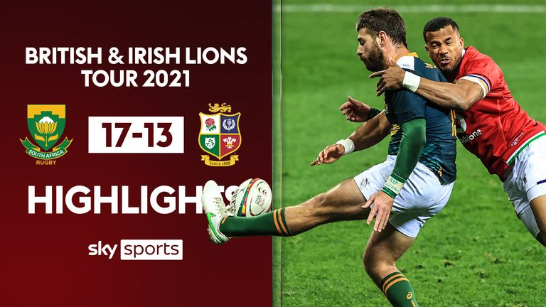 """Highlights of the Lions' first defeat in Cape Town against the mighty South African """"A"""" team"""