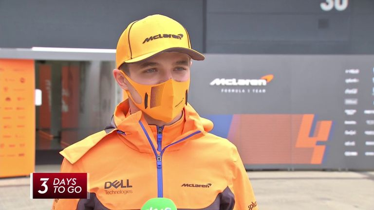 """British GP: Lando Norris """"not in perfect condition"""" and struggles to sleep after Wembley assault"""