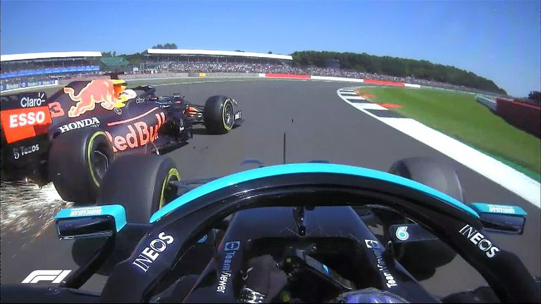 The British GP was red-flagged when Max Verstappen was forced to retire his car after a collision with Lewis Hamilton on the first lap. Who was to blame?