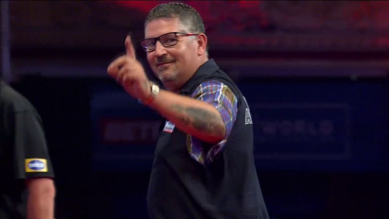 In typical Anderson fashion, the Scot landed this 149 finish to the delight of the Winter Gardens
