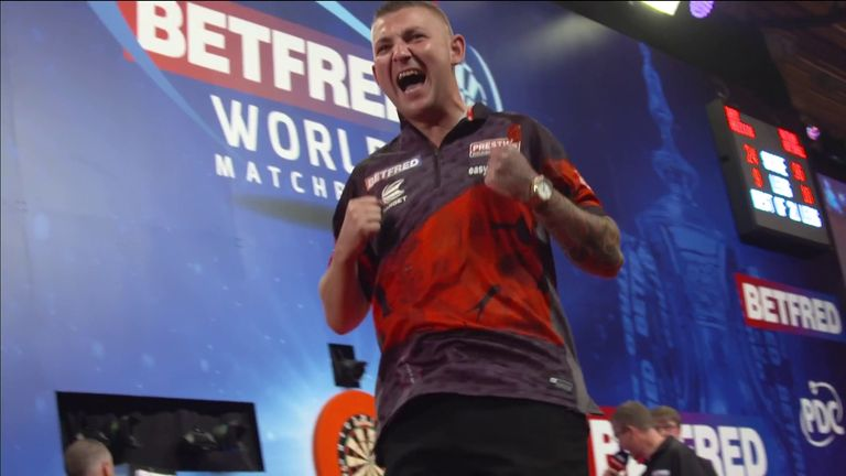 The best of the action from Day Five of the World Matchplay at the Winter Gardens in Blackpool