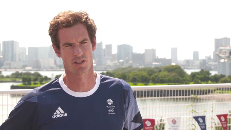 Andy Murray reveals how he has tried to prepare for the heat and humidity ahead of the defence of his Olympics men's singles title in Tokyo
