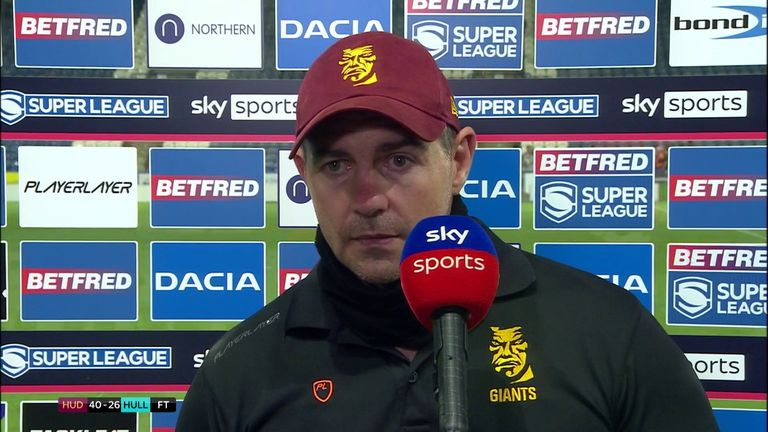 Ian Watson believes Huddersfield have been improving over the last couple of weeks after breaking a six-game losing streak against Hull FC