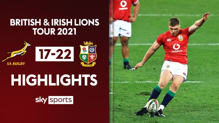 Match Report – South Africa 17 – 22 Lions