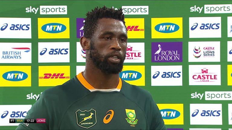 Le capitaine Siya Kolisi dit que l'Afrique du Sud examinera ce qui n'a pas fonctionné lors de la première défaite de test contre les Lions et ne fera aucune excuse