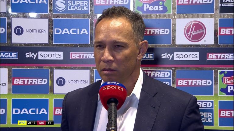 Wigan Warriors coach Adrian Lam believed that his team were the better side despite losing and bemoaned some of the decisions that went against his team