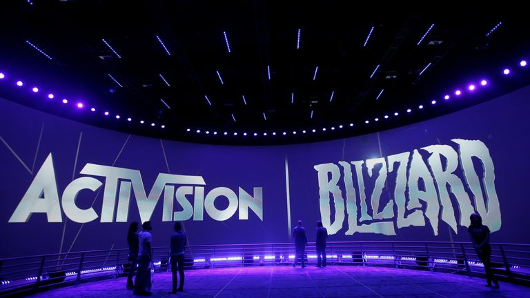 Activision Blizzard is facing a lawsuit for its 'toxic workplace' culture. Pic: AP