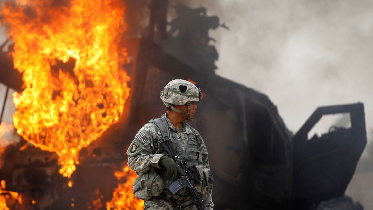 The US-led campaign cost trillions of dollars, with tens of thousands of people killed, the majority of them Afghans