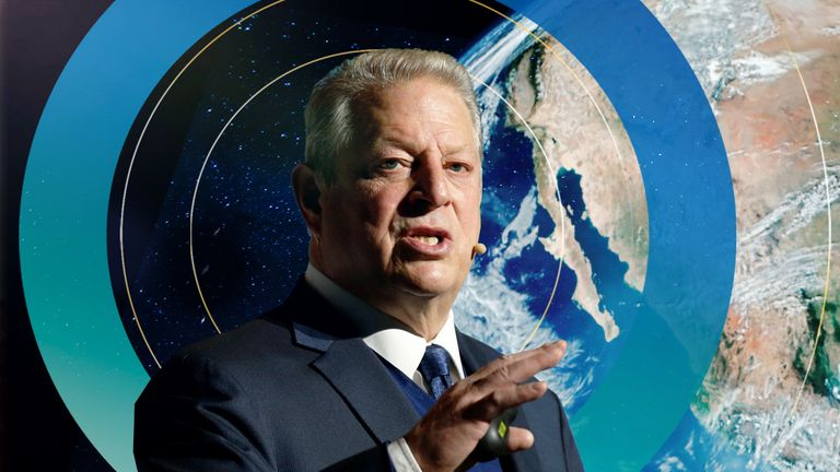 Environmentalist Al Gore sounds the alarm on climate change