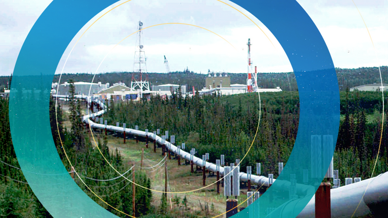 The Trans-Alaska Pipeline is under threat