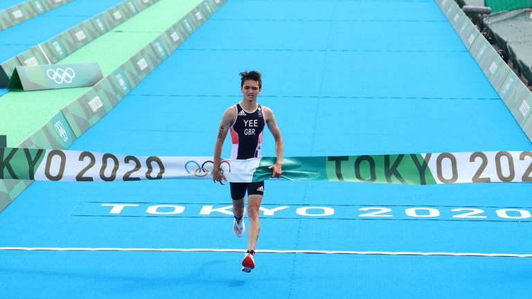 Alex Yee finished things off nicely for Team GB