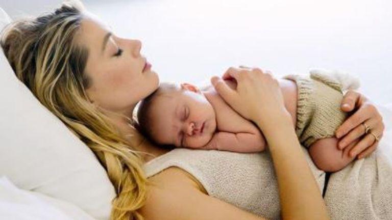 Amber Heard ha named her baby Oonagh Paige Heard