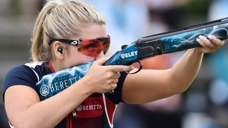 Amber Hill says she is 'devastated' at having to withdraw from the Olympics