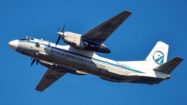 A Russian Antonov An-26 plane. File pic