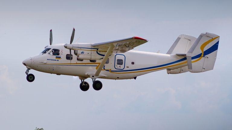 Antonov AN-28 plane. File pic