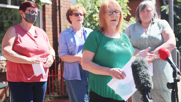 Family members of Ballymurphy massacre victims have vowed to challenge the 'denial of human rights'