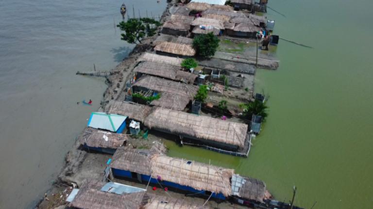 Banishanta, a shoreline brothel in Bangladesh