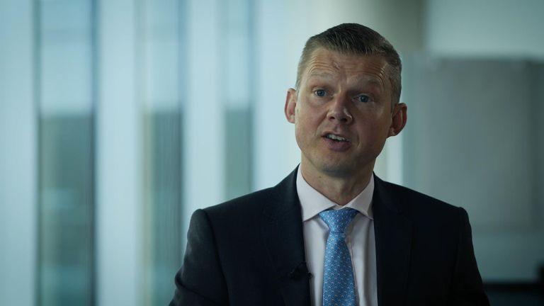 Pfizer's UK boss Ben Osborn