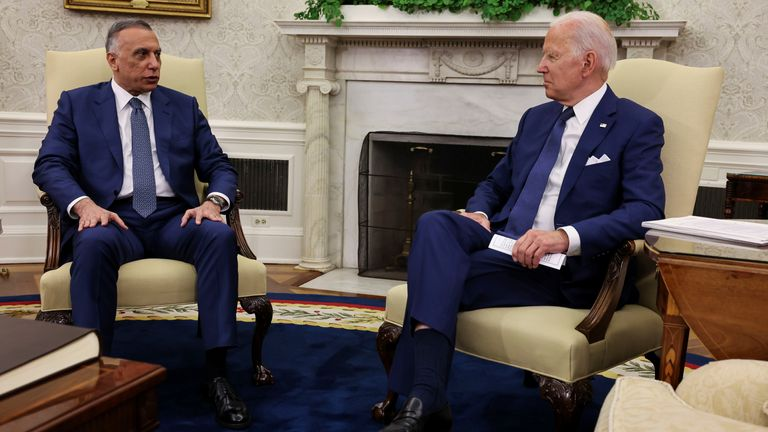 The two leaders have come to agreement about the US ending its combat mission in Iraq