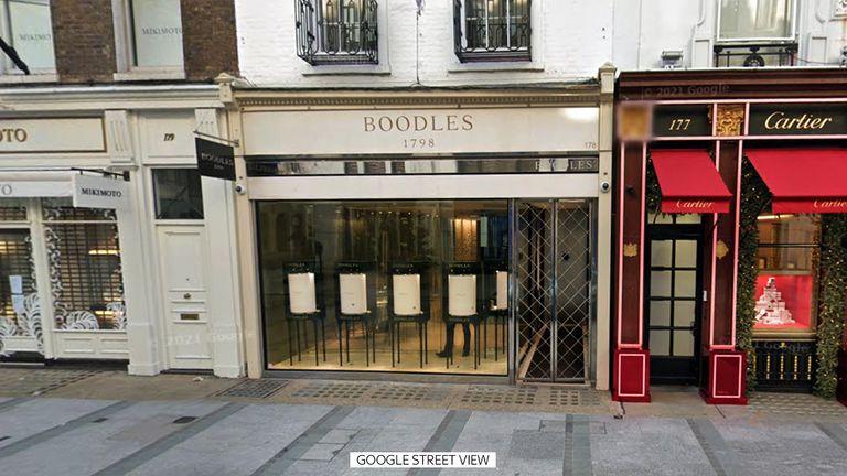 Booddles, New Bond Street, London