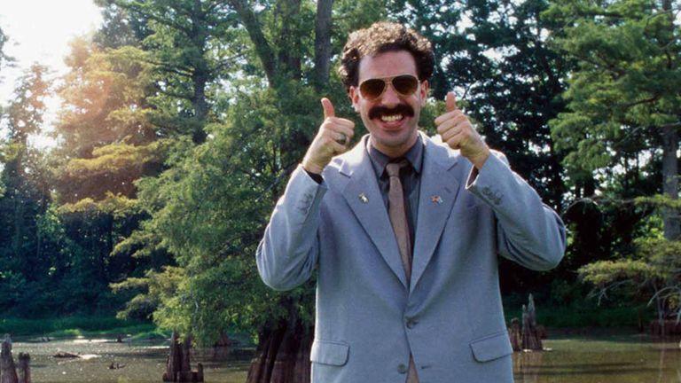 Borat: Cultural Learnings Of America For Make Benefit Glorious Nation Of Kazakhstan. Pic: Moviestore/Shutterstock