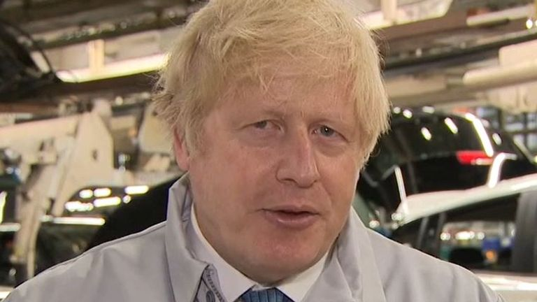 Boris Johnson says he is 'confident' that people with two jabs will be able to travel
