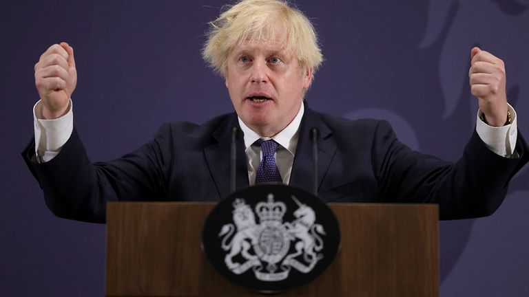 15/07/2021. Coventry, United Kingdom. The Prime Minister Boris Johnson delivers his Levelling Up speech at the UKBIC production factory. Picture by Andrew Parsons / No 10 Downing Street