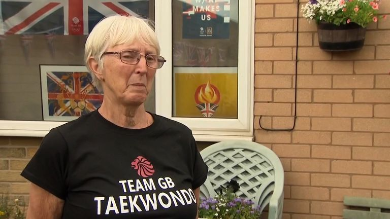Bradly Sinden's grandma says she thought her grandson would take home gold at the Tokyo Olympics.