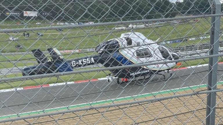 The fatal accident happened at the Brands Hatch circuit near Dartford. Pic: @FlooringKimpton