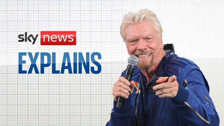 Sky News Explains: The billionaire space race