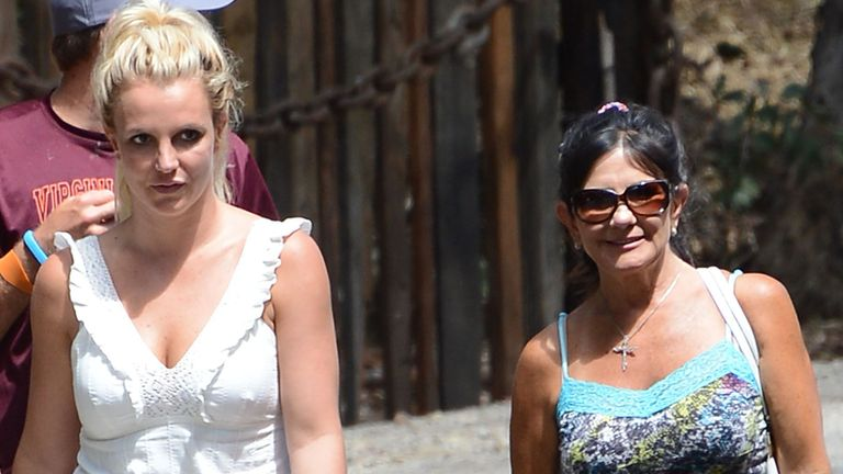 Britney Spears and Lynne Spears. Pic: Broadimage/Shutterstock