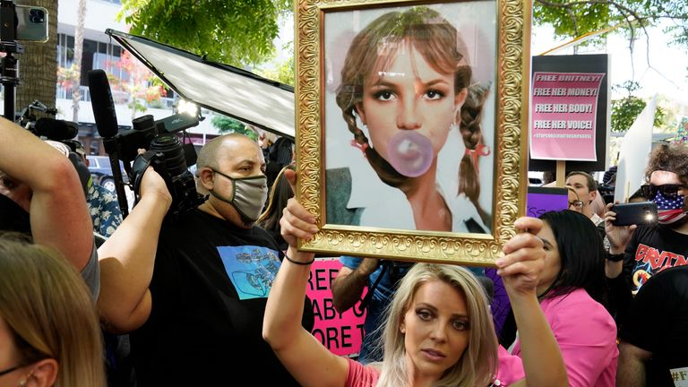 Support for the singer's case has been crowing Pic: AP
