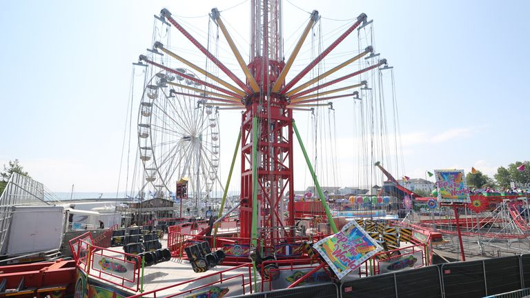 Several people were injured in the incident on the Star Flyer funfair ride at Planet Fun