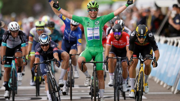 Cavendish has won stages four, six and 10 on this year's tour
