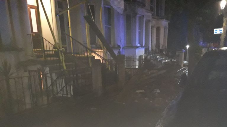 Chesterton Road roof collapse