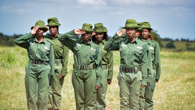 Meet Team Lioness: The women making history in Kenya. Credit: IFAW