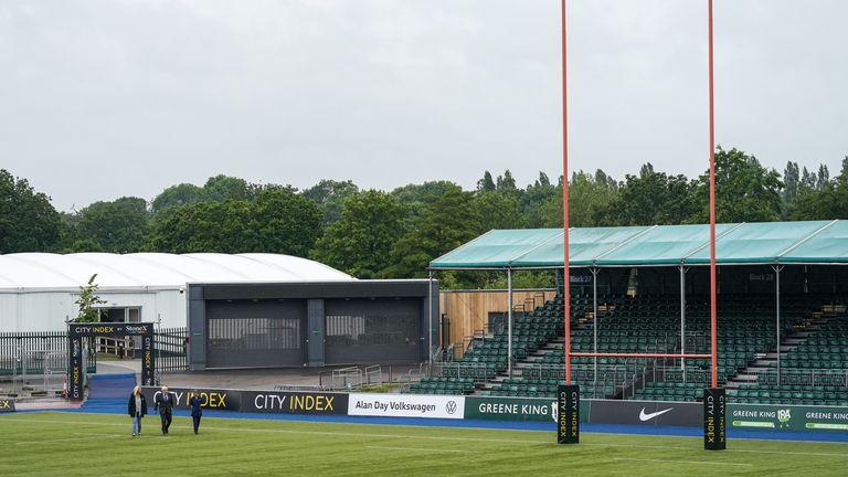 Saracens' StoneX stadium, visited recently by Boris Johnson, is among those giving COVID jabs