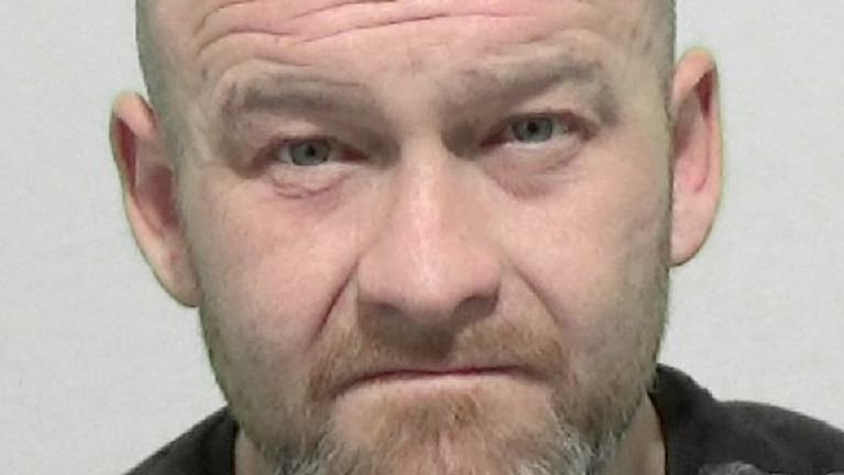 Paul Conlon was jailed for more than 11 years after fatally beating his father on Christmas Eve. Pic: Northumberland Police
