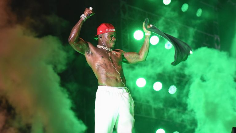 DaBaby made the comments while performing in Miami. Pic: Michele Eve Sandberg/Shutterstock