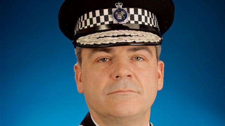Chief constable Dave Thompson says communities aren't forgotten. Pic: West Midlands Police