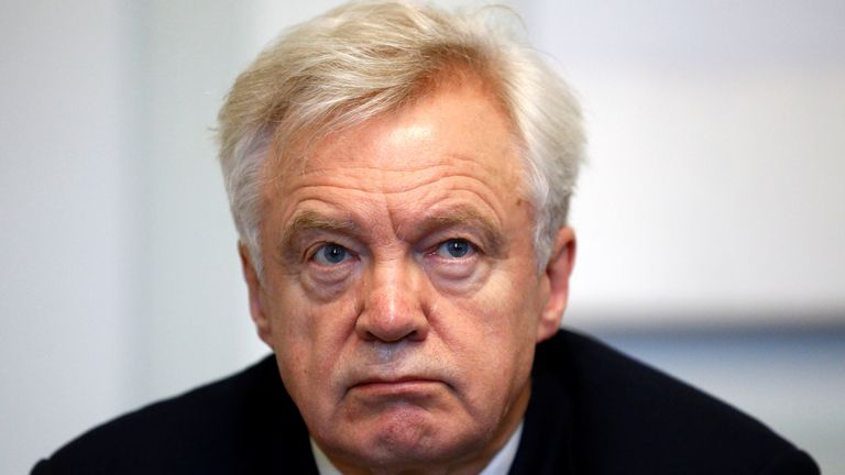 Conservative MP David Davis has criticised the plans by the government