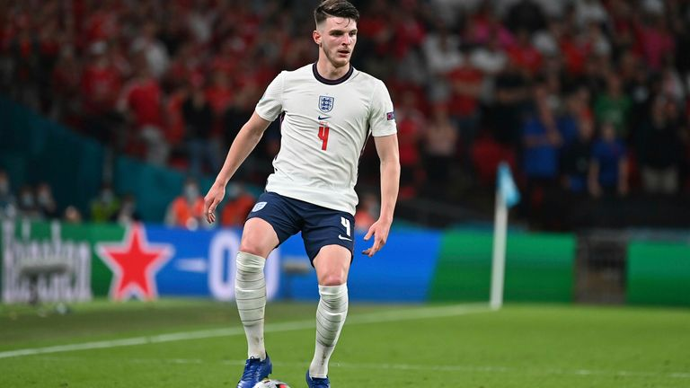 Declan Rice is one of a handful of England players who could have played for Ireland